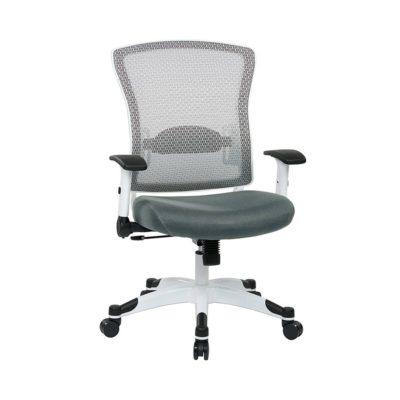 ergonomic executive management adjustable lumbar office chair