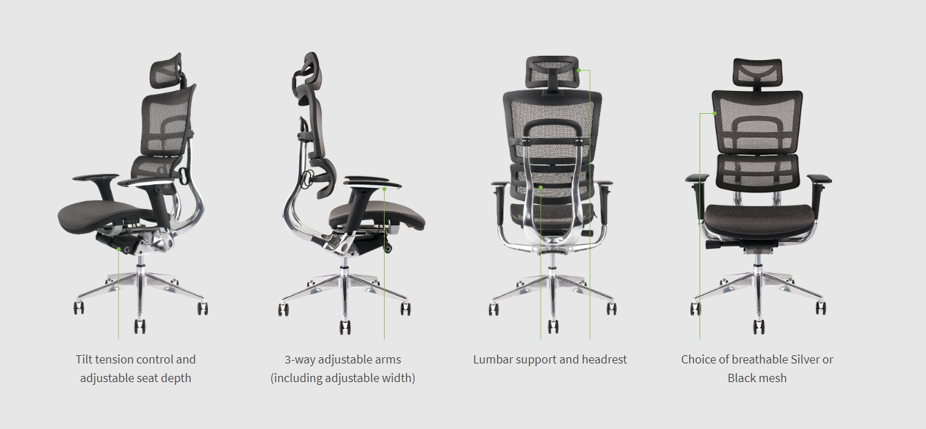 architect chair features