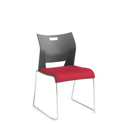 Global Upholstery Duet Stacking Chair