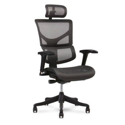 xchair x1 grey mesh office task chair