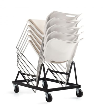 Global Upholstery Popcorn Stacking Chair