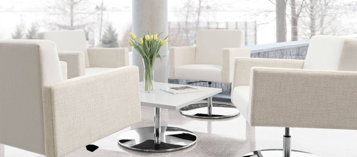 global jeo series reception lounge seating chair
