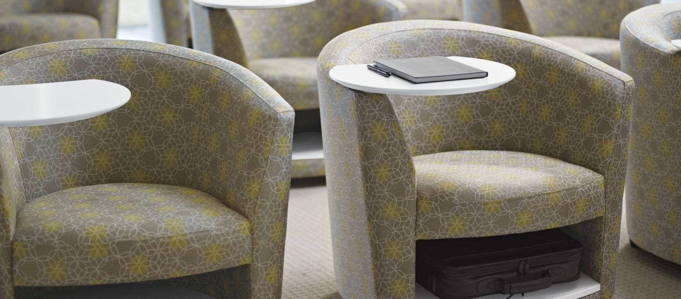 global sirena series reception lounge seating chair