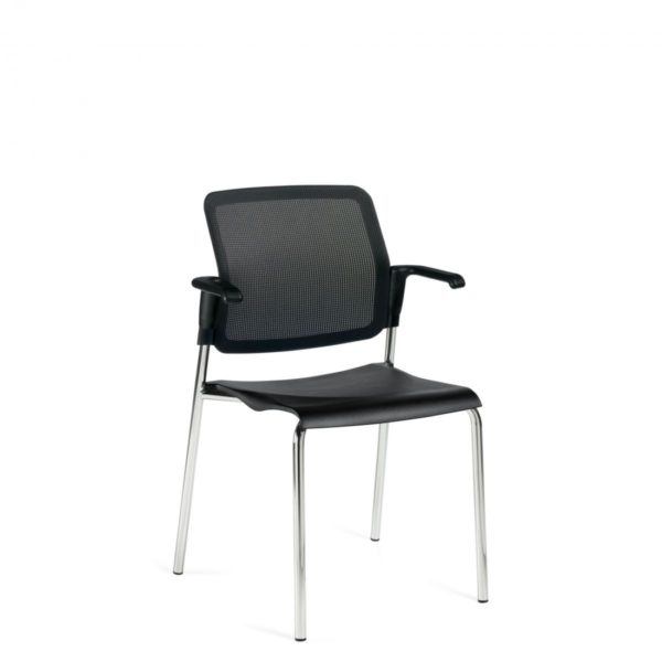 Global Upholstery Sonic Stacking Chair