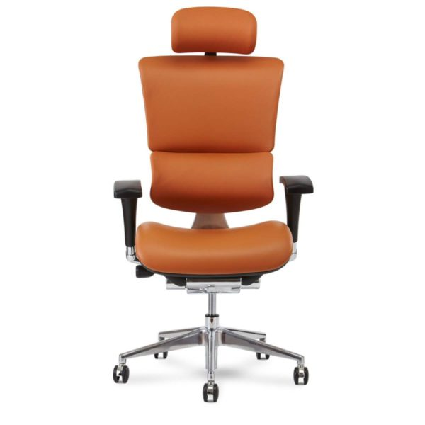 x chair x4 ergonomic leather work task executive management office chair
