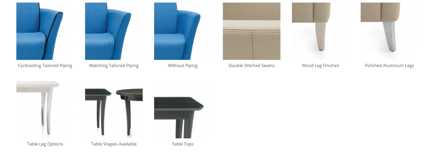 camino seating features