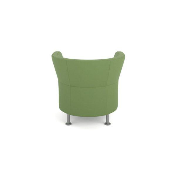 flock lounge chair