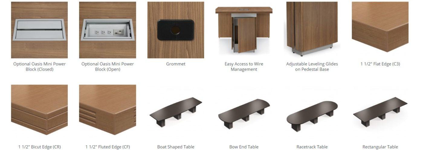 zira tables features