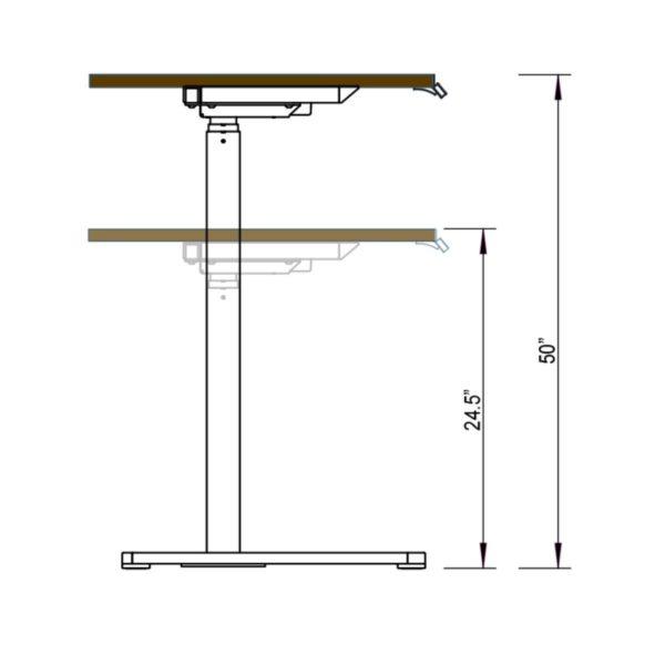 Single Leg Table